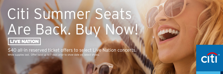 Citi Mastercard Sign In >> Ak-Chin Pavilion | Citi Entertainment®
